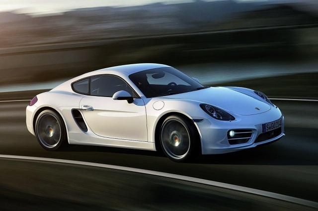 zdjęcie Porsche Cayman