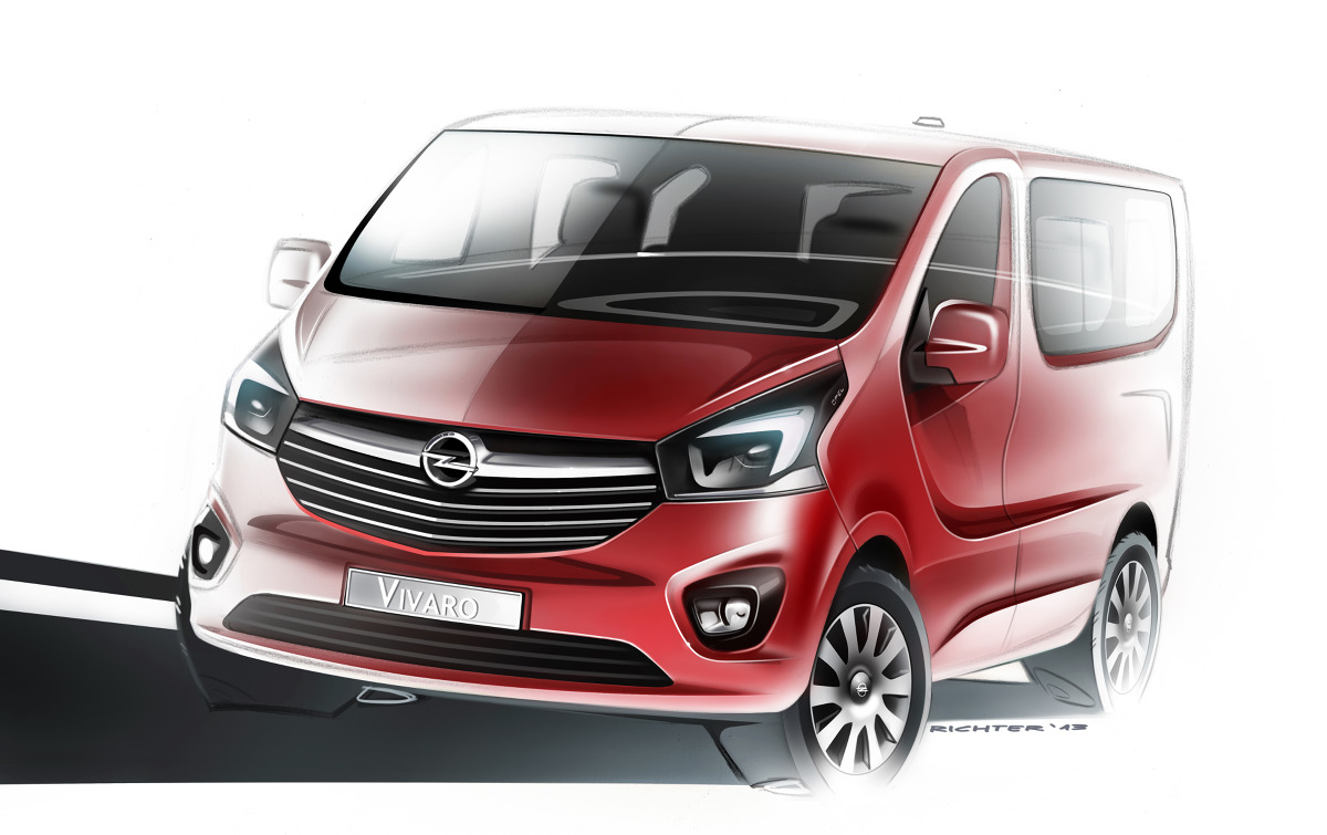 Nowy Opel Vivaro – w świeżej stylistyce, z innowacyjnymi silnikami i nowoczesnymi technologiami – zadebiutuje na początku lata 2014 roku Fot: Opel