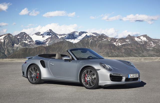 zdjęcie Porsche 911 Turbo Cabriolet