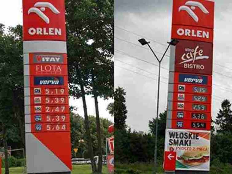 Ceny paliw w Koszalinie i Kołobrzegu: tak drogo jeszcze nie było