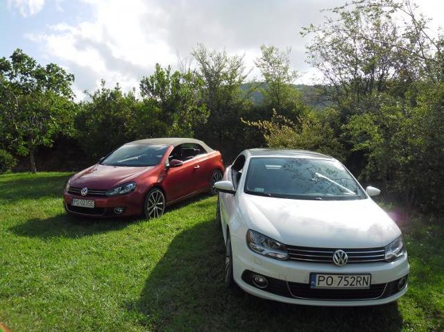 Pierwsza jazda: Volkswagen Eos i Volkswagen Golf Cabriolet