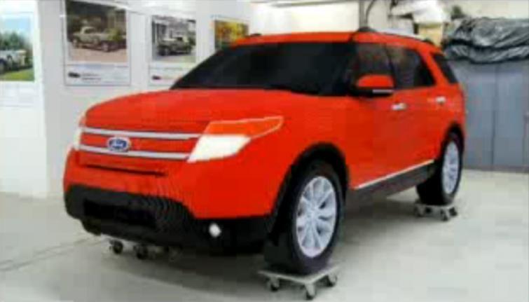 Ford Explorer do samodzielnego montażu. Zobacz film