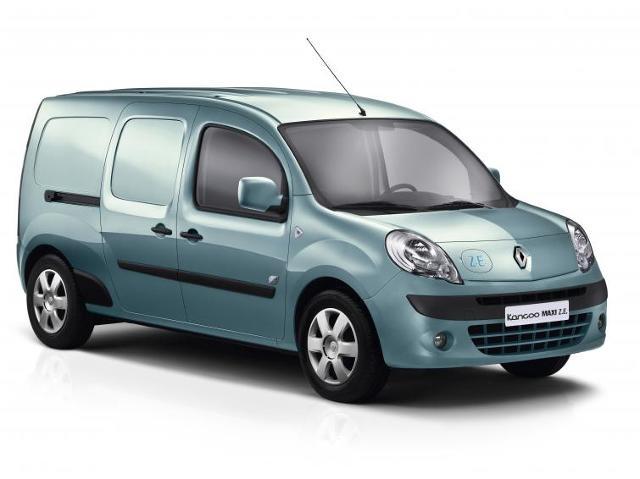 Renault Kangoo Maxi Z.E. - elektryczny dostawczak
