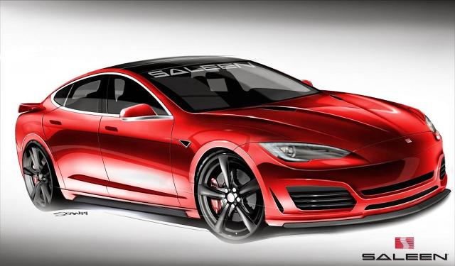 Tesla Model S / Fot. Saleen Automotive