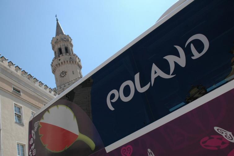 Setra 416. Tym autobusem będzie jeździła reprezentacja Polski podczas Euro 2012