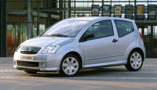 Fot. Citroen: Citroen C2 to typowy pojazd miejski wykorzystujący 60% podzespołów większego modelu C3.