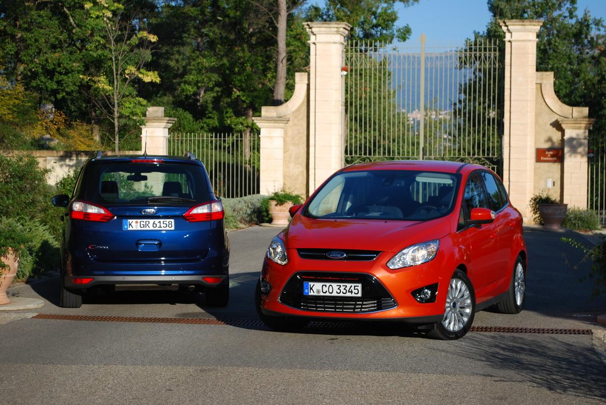 Ford C-MAX i Grand C-MAX, Fot:  Mototarget.pl