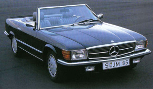 Mercedes-Benz Klasa SL R107 (1972 - 1989) Kabriolet