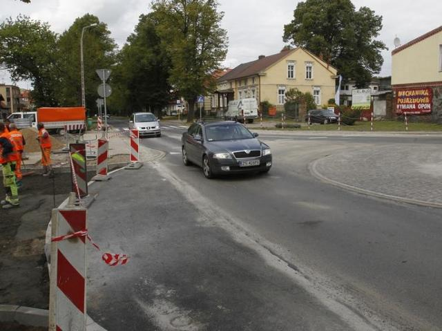 W Szczecinie powstało nowe rondo