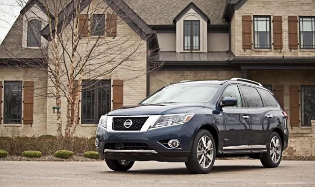 zdjęcie Nissan Pathfinder Hybrid