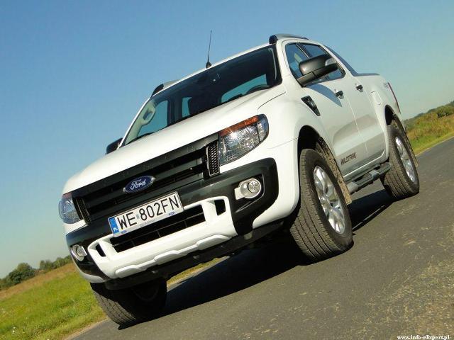 Ford Ranger Fot: Dariusz Wołoszka - Info-Ekspert