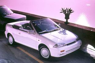 Suzuki Swift II (1989 - 1996) Kabriolet