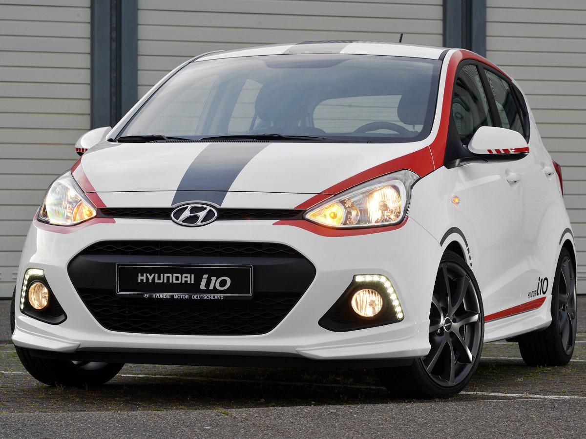 Hyundai i10 Sport / Fot. Hyundai