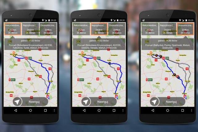 Nawigacja NaviExpert teraz z prezentacją tras alternatywnych