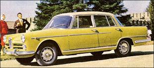 Alfa Romeo 2000 I (1958 - 1961) sedan