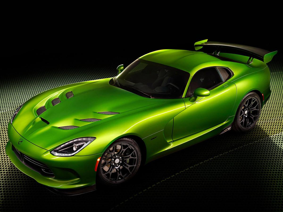 Viper GT Stryker Green / Fot. Chrysler