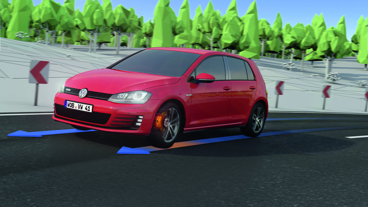 Elektronika daje dzisiaj możliwość tworzenia niedrogich systemów, które w prosty sposób znacząco poprawiają trakcję samochodu.  fot. Volkswagen
