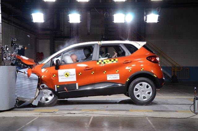 5 gwiazdek Euro NCAP dla Renault Captur, Fot: Renault