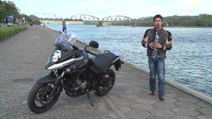Suzuki DL. Idealny do jazdy po mieście (video)
