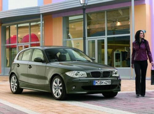 Fot. BMW: Atrakcją BMW 120i ma być napęd na tylne koła, niespotykany w tej klasie pojazdów.