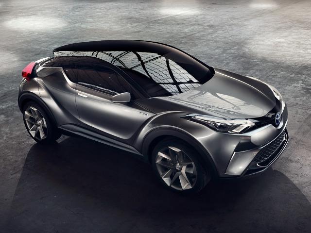 Bazą do stworzenia nowości ma być koncepcyjna Toyota CH-R, która debiutowała w 2015 roku we Frankfurcie / Fot. Toyota