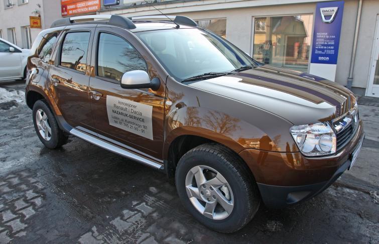 Testujemy: Dacia Duster Laureate 1.5 dCi 110 4x4