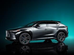 Toyota bZ4X Concept. Elektryczna Toyota bez kierownicy