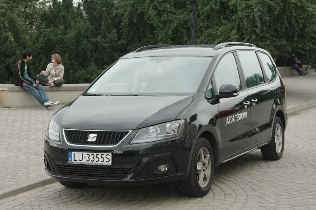 Testujemy: Seat Alhambra 2.0 TDI - hiszpański autobus