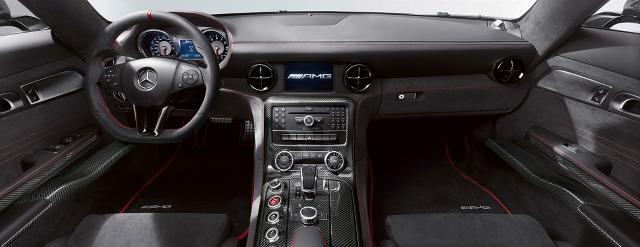 zdjęcie Mercedes-Benz SLS AMG Black Series