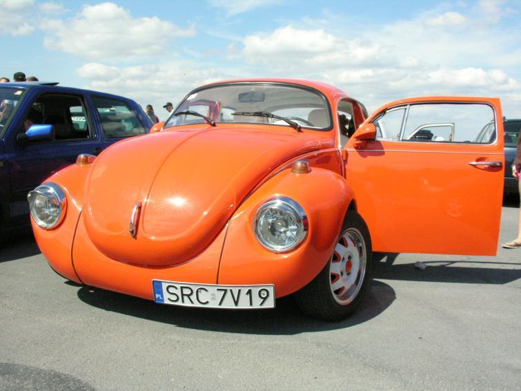 Zlot aut z koncernu Volkswagena pod Opolem