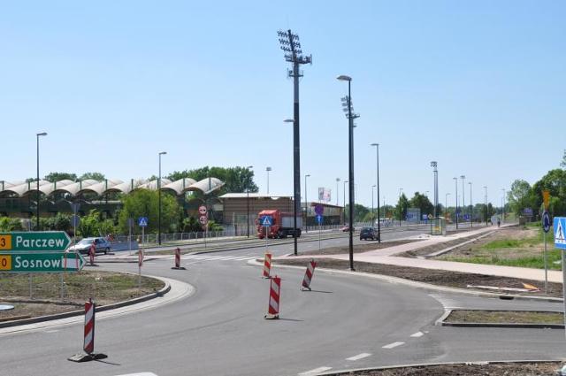 Łęczna - koniec remontu ulicy Jana Pawła II