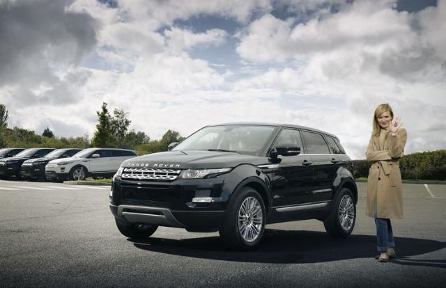 Najbardziej kobiecy samochód roku to Range Rover Evoque