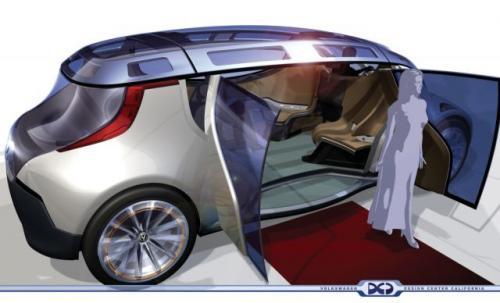 Volkswagen Mobile Lounge zaprojektowany w Volkswagen/Audi Design Center California.
