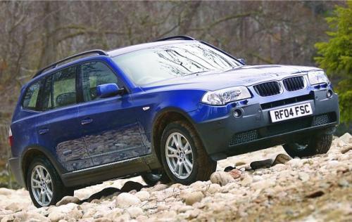 Fot. BMW: Trasę terenową panie pokonywać będą m.in. BMW X3