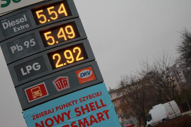 Ceny paliw na Podkarpaciu (16.11)