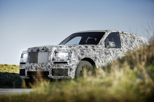 Rolls-Royce Cullinan. Pierwszy SUV w gamie