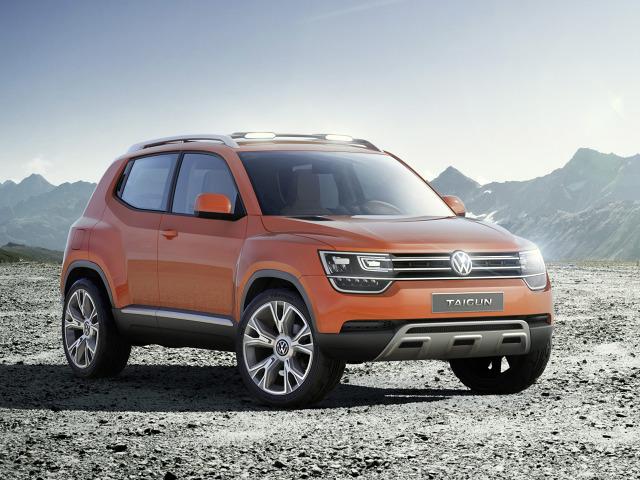 W związku z tzw. aferą spalinową, Volkswagen wprowadza cięcia. Ich ofiarą padł model Taigun, który niebawem miał trafić do produkcji / Fot. Volkswagen