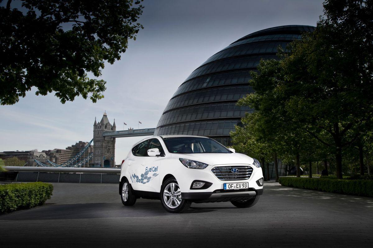 Hyundai ix35 Fuel Cell / Fot. Hyundai
