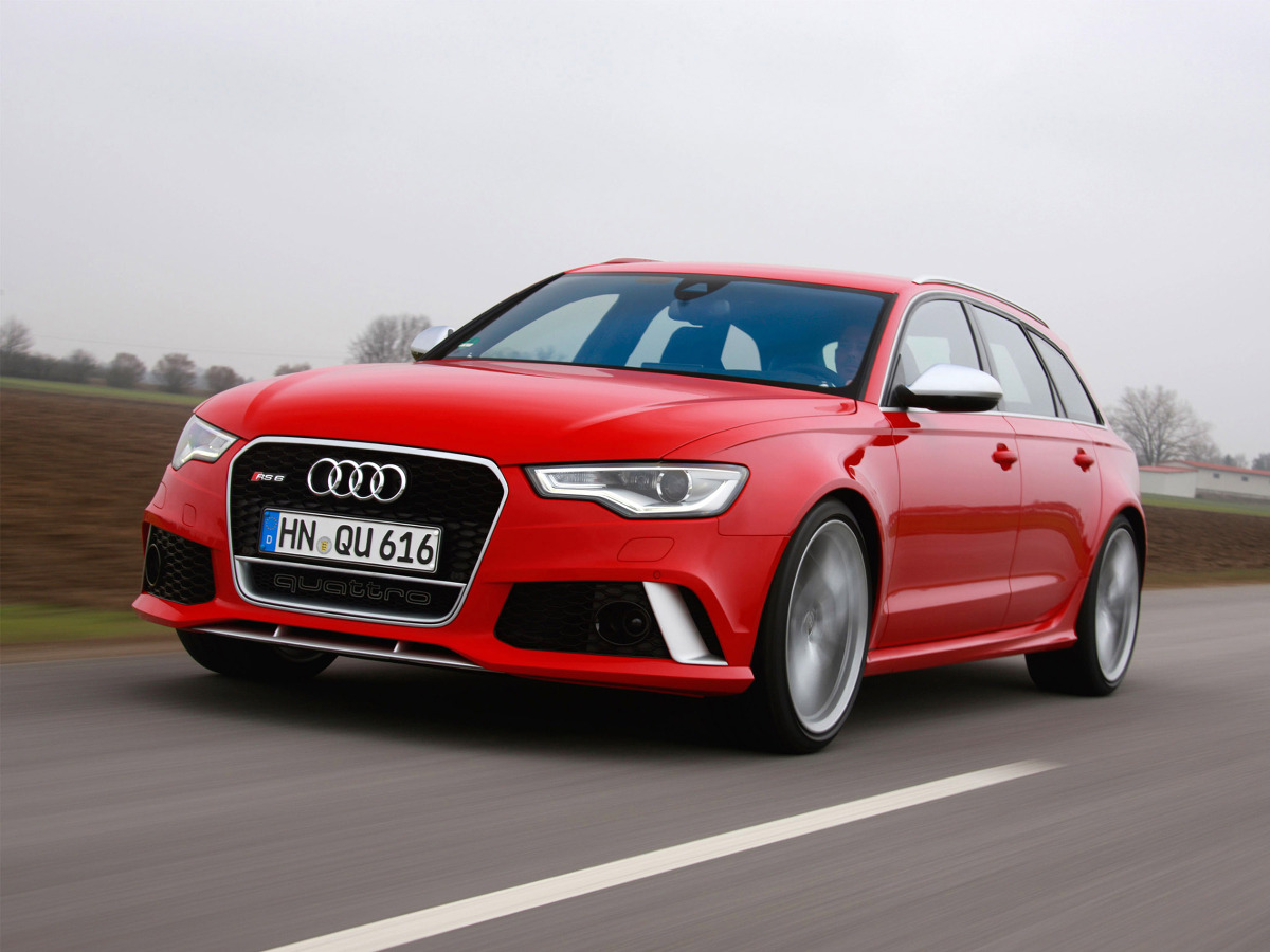 Audi RS6 Avant 2013 / Fot. Audi