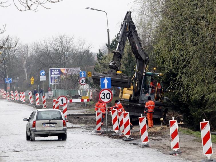 Szczecin: Paraliż komunikacyjny dopiero się zacznie