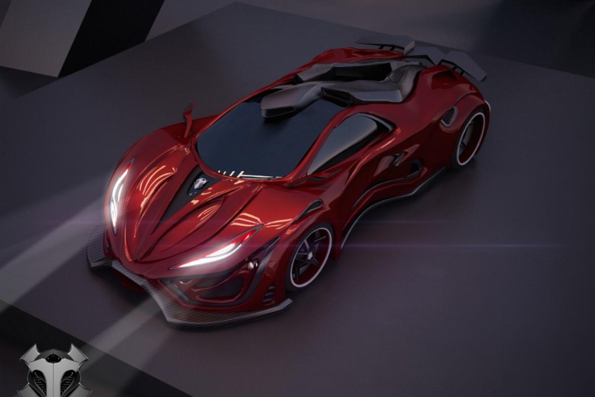 Marka Inferno ma w przyszłym roku rozpocząć produkcję supersamochodu. Wiadomo, że pojazd ma dysponować moćą 1400 KM / Fot. Inferno