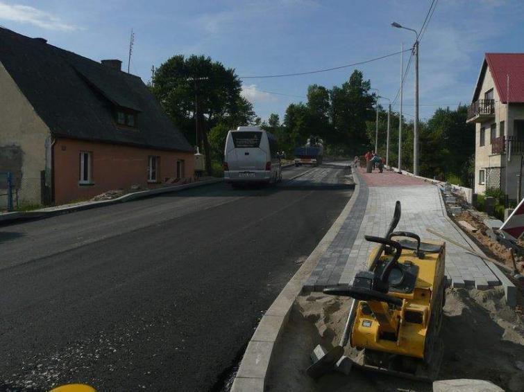 Modernizacja drogi wojewódzkiej nr 214