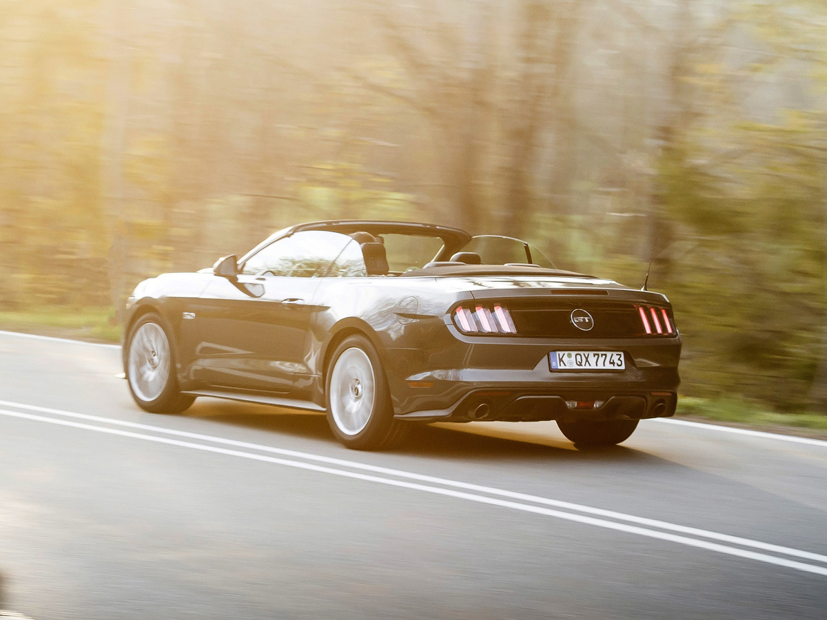 Ford Mustang Zdjęcie Ford Mustang Convertible Foto