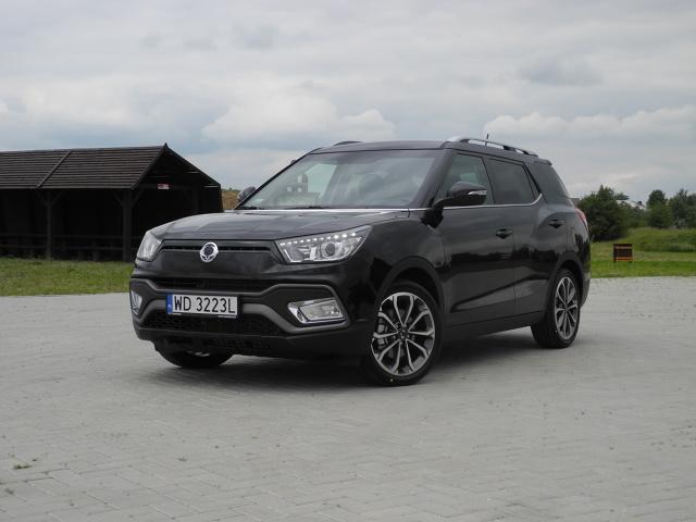 SsangYong XLV  Marka SsangYong wprowadziła na polski rynek model XLV. Auto konstrukcyjnie oparte jest na modelu Tivoli. Ceny rozpoczynają się od kwoty 59 900 zł.  Fot. SsangYong