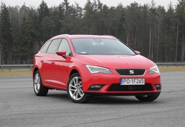 Seat Leon ST / Fot. Wojciech Frelichowski