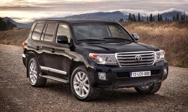 Toyota Land Cruiser V8 / Fot. Toyota