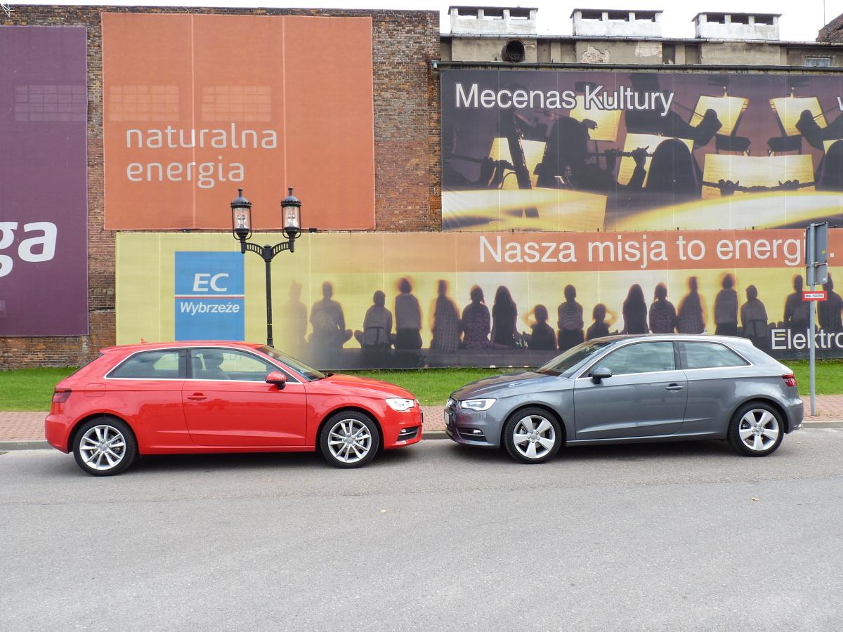 Audi A3, Fot: Jerzy Dyszy