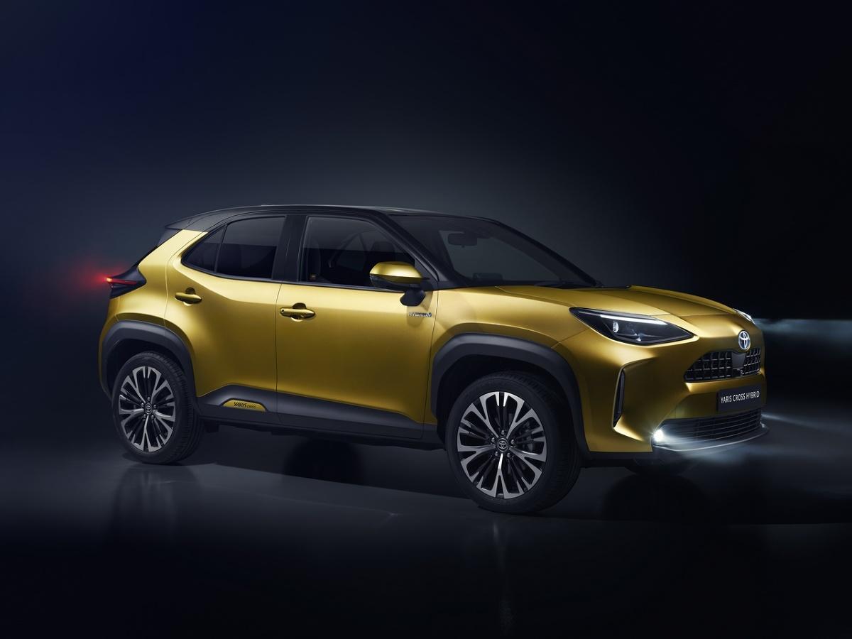 Toyota Yaris Cross  Yaris Cross został zaprojektowany z myślą o europejskim rynku. Będzie produkowany we Francji w liczbie ponad 150 000 egzemplarzy rocznie. Debiut na europejskim rynku nastąpi w 2021 roku.  Fot. Toyota