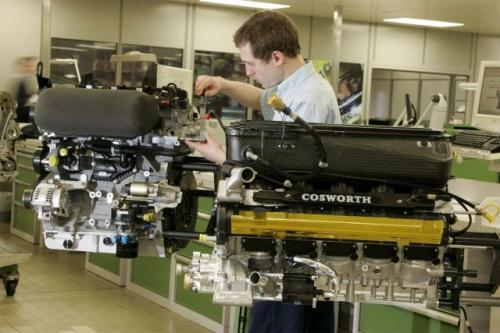 Fot. Cosworth: Silnik Coswortha o pojemności 2,3 l to 4-cylindrowa jednostka napędowa rozwijająca moc 200 lub 260 KM.