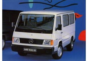 Mercedes-Benz MB100 (1991 - 1995) Furgon